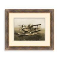 Vintage Biplane 1 Framed Art