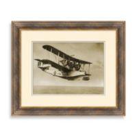 Vintage Biplane 2 Framed Art