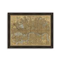 Map of London Framed Art