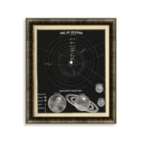Solar System 8 Framed Art
