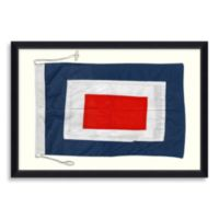 Framed Nautical Flag Shadow Box 2