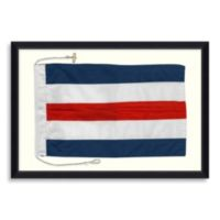 Framed Nautical Flag Shadow Box 4