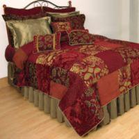 Renaissance Patchwork Quilt Standard Pillow Sham