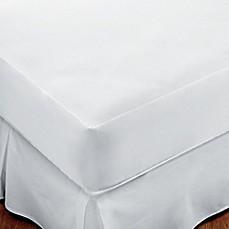 Sleep Safe Premium Mattress Protector In White Bed Bath