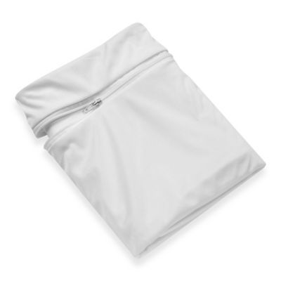 sleep safe standard pillow protector in white