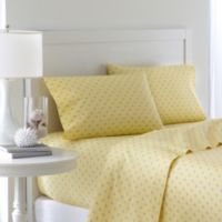 Southern Tide® Skipjack 200 Thread Count King Sheet Set in Moonlight Yellow