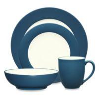 Noritake® Colorwave Rim 4-Piece Place Setting in Blue