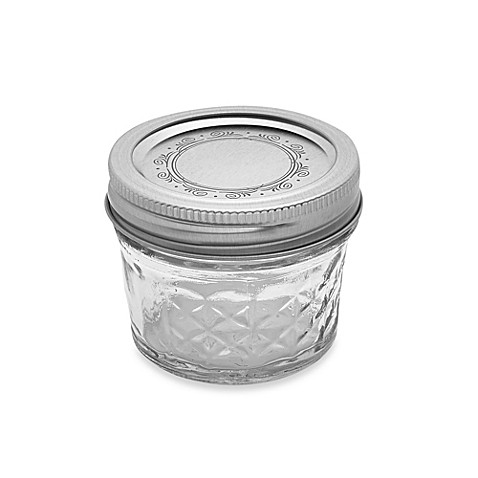 Ball 174 Crystal Quilted 12 Pack 4 Oz Glass Canning Jars