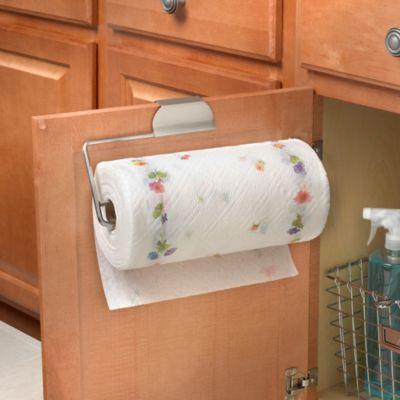 Spectrum™ Over The Cabinet Door Paper Towel Holder In Brushed Nickel