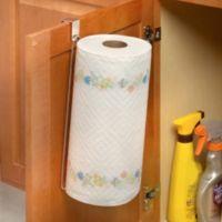 Over the Cabinet Door Vertical Paper Towel Holder