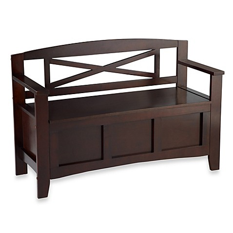 Linon Home Crosby Storage Bench Bed Bath Amp Beyond