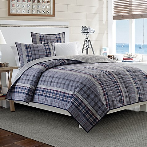 Nautica Tiller Reversible Quilt Bed Bath Beyond