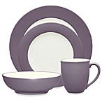 Noritake® Colorwave Rim 4-Piece Place Setting in Plum