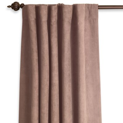 Buy Suede Window Panels From Bed Bath Amp Beyond