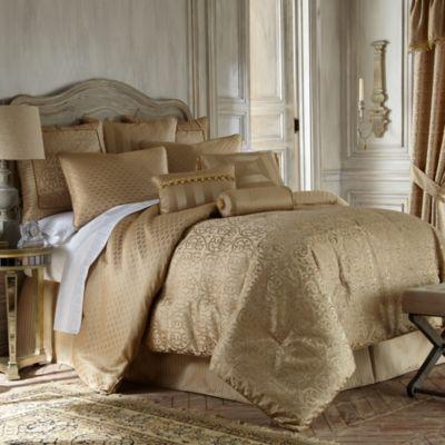 Waterford Linens Anya Reversible King Comforter Set