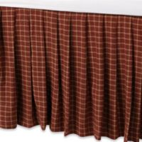 Donna Sharp Campfire Square Twin Bed Skirt