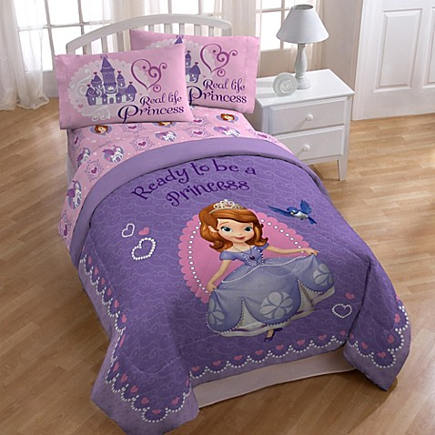 Disney sofia the first bedding and accessories bed bath beyond - Sofia the first bedroom ...