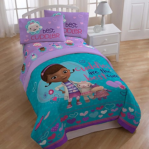 doc mcstuffins bedroom set disney 174 doc mcstuffins bedding and accessories bed bath 15192