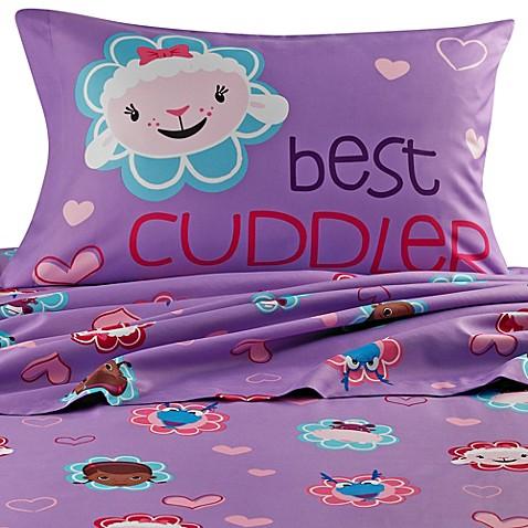 Disney 174 Doc Mcstuffins Sheet Set Bed Bath Amp Beyond