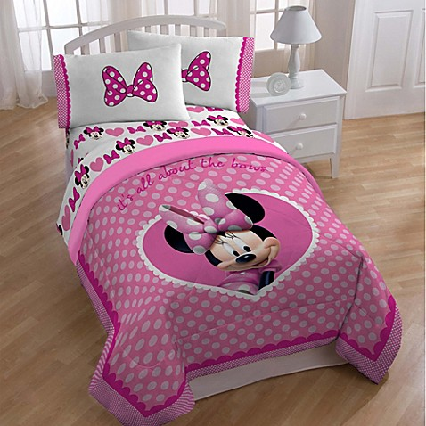 Disney 174 Minnie Bedding And Accessories Bed Bath Amp Beyond