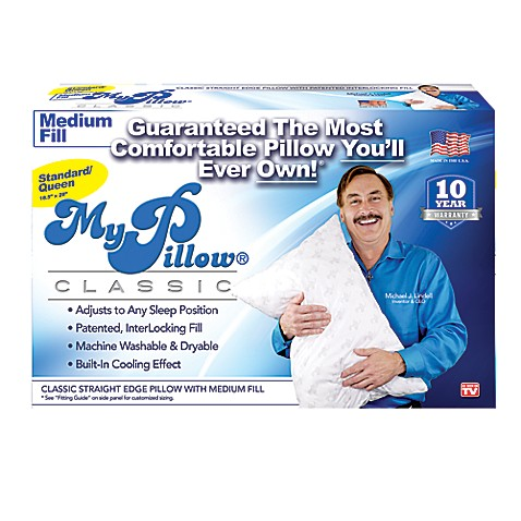 Mypillow 174 Medium Fill Pillow Bed Bath Amp Beyond