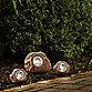 Solar Rock Landscaping Spotlights Set Of 3 Bed Bath