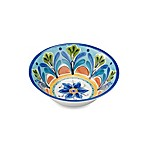 Azul Hand Painted Look 7.5-Inch Round Cereal Bowl
