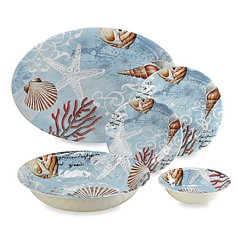 Tramore Bay Melamine Dinnerware Collection  sc 1 st  Bed Bath u0026 Beyond & Tramore Bay Melamine Dinnerware Collection - Bed Bath u0026 Beyond