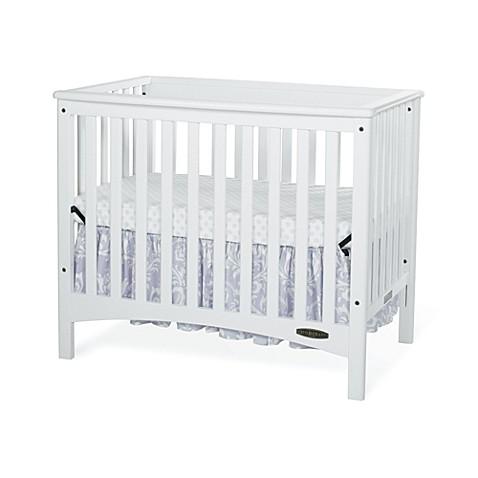 Child Craft London Euro 2 In 1 Mini Crib In White