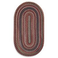 Capel Rugs Sherwood Forest 2-Foot x 3-Foot Oval Rug in Red