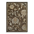 Westwood 1-Foot 6-Inch x 2-Foot 6-Inch Floral Accent Rug in Taupe
