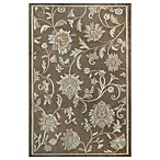 Westwood 2-Foot 3-Inch x 3-Foot 6-Inch Floral Accent Rug in Taupe