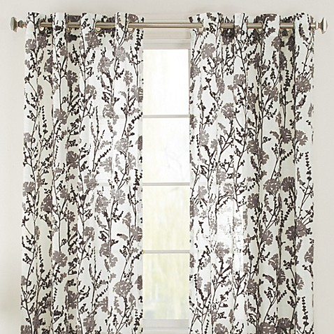 Bethany Grommet Window Curtain Panel - Bed Bath & Beyond