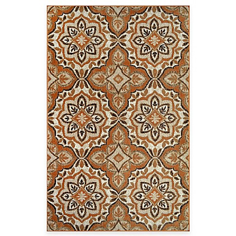 Westwood Medallion Accent Rug In Rust Bed Bath Amp Beyond
