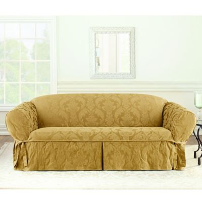 buy cushion sofa slipcover from bed bath & beyond