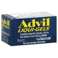 Advil® Liqui-Gels® 80-Count 200 mg Pain Reliever/Fever Reducer Liqui-Gels