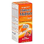 Motrin Children's 4 oz. Ibuprofen Pain Reliever and Fever Reducer in Berry Flavor