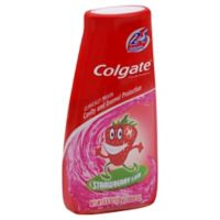 Colgate Kids 2-in-1 4.6 oz. Toothpaste and Mouthwash in Strawberry Flavor