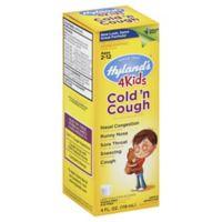 Hyland's® 4 Kids 4 oz. Cold 'n Cough Syrup