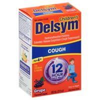 Delsym® 3 oz. Children's 12-Hour Cough Suppressant in Grape