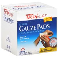 Harmon® Face Values™ 25-Count 3-Inch x 3-Inch Sterile Gauze Pads