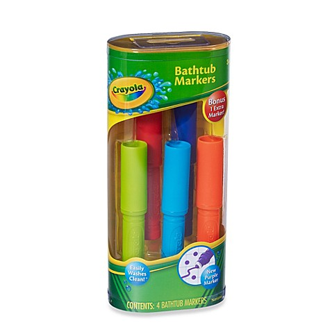 Crayola 174 4 Pack Bathtub Markers Buybuy Baby