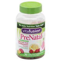 Vitafusion® 90-Count Prenatal DHA & Folic Acid Gummy Vitamins