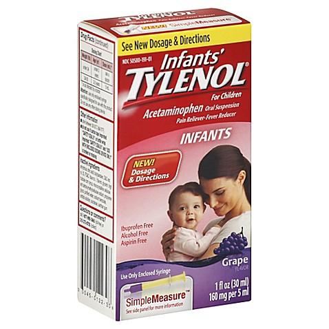 Infants Tylenol 174 For Children 1 Oz Acetaminophen Oral