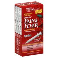Harmon® Face Values™ 2 oz. Infants' Pain & Fever Suspension Liquid in Cherry