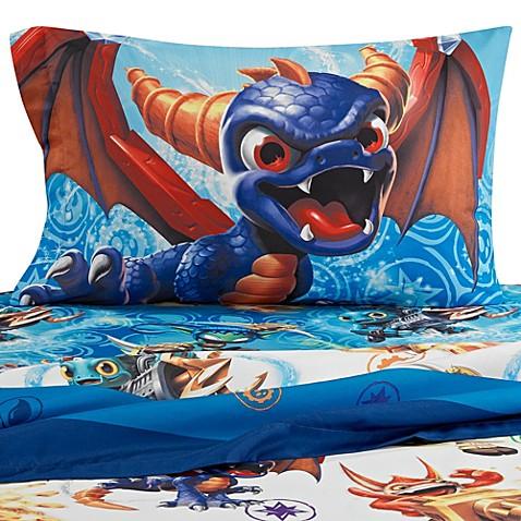 skylanders sheet set bed bath beyond