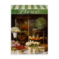 Fabrice de Villeneuve Studio Fleurs Shop Printed Canvas Wall Art