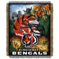 NFL Cincinnati Bengals Tapestry Throw