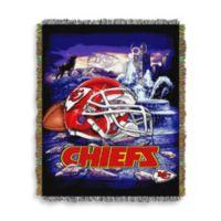 NFL Kansas City Chiefs Tapestry Throw