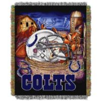 NFL Indianapolis Colts Tapestry Throw